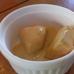 KEBUN - デザート カボチャのココナッツミルク煮