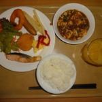 ホテルルートイン豊川インター - モーニング