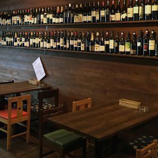 1,000円台のボトルワインが40種類以上♪