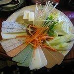 町屋 清水庵 - 餅しゃぶ膳 2006/12