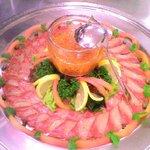 食酔坊 宝 - 宴会料理カンパチのカルパッチョ