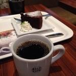 デリカフェ・キッチン オオサカ ミドウ - 2014年10月 コーヒーとケーキ♪