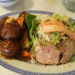 31400257 - 甘酢の肉団子定食