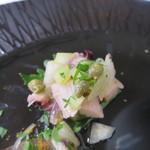 31400688 - 真蛸とセロリのレモン風味のサラダ