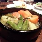 トレド - 野菜のアヒージョ