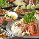 海鮮居酒屋 えん屋 - 海鮮ちゃんこ鍋コース