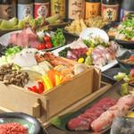 海鮮居酒屋 えん屋 - 旬野菜と桜エビ塩の蒸篭蒸しコース