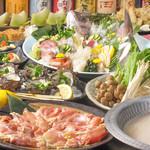 海鮮居酒屋 えん屋 - 地鶏の水炊き鍋コース