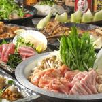 海鮮居酒屋 えん屋 - 肉ちゃんこ鍋コース