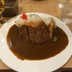 サーティカレー松原 - カツカレー