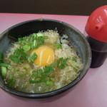 山岡家 - 卵かけご飯