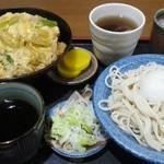 31403759 - 「おろしとカツ丼セット(中)」1,000円 H26.10.10撮影