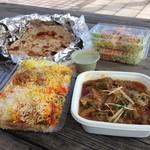 インド・パキスタン料理 ホット・スプーン - ビンディゴーシュとビリヤニ