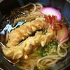八波 - 料理写真:えび天うどん 650円