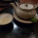 美食倶楽部 - 土瓶蒸し 中身は秋の恵みです(H26.10)