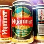 Cafe&Bar Sabaidee - 知る人ぞ知るミャンマービールでしたが、現在ミャンマーから出荷されず、手に入っておりません。申し訳ありません。