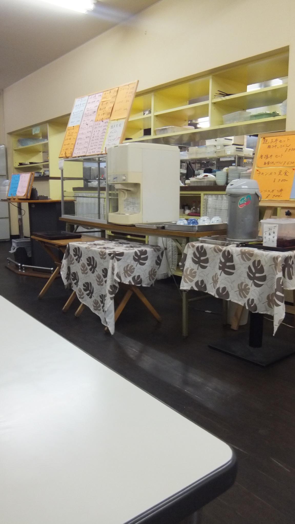 高知警察署 食堂