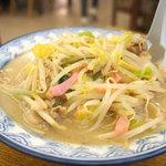 井手ちゃんぽん - 普通サイズのチャンポン700円です。       見かけは、つゆだくの野菜炒めのようです。
