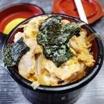 直利庵 三浦屋 - ミニ親子丼
