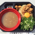 肉玉そば おとど - 「濃厚旨辛鶏つけ麺」(2014年大つけ麺博)