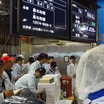 焼肉グレート - 毎週芝浦まで、目利き職人が買い付けに行きます。