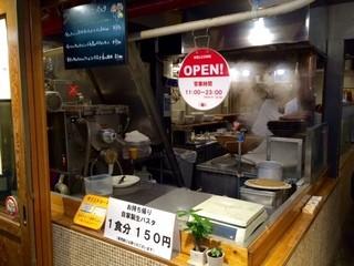 スパ吉 - この厨房から大人気スパを生産!