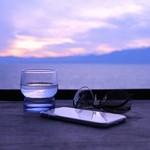 シャーレ水ヶ浜 - sunset & iPhone & ティアドロップ☆