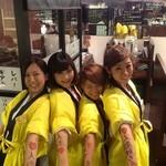 焼肉グレート - 仙台牛のイベント。チームワークもばっちりです♡