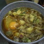 小諸そば - 14-10 秋野菜天そば(大盛り)