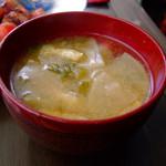 シャノア - 大根のお味噌汁