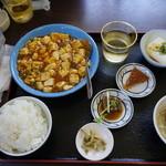 中華料理福泉餃子 - 麻婆豆腐定食
