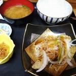 食べ処 庄家 - 日替わり500円