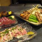 彩 - 当店自慢の人気料理です!!!