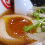 麺や まるとも - 味玉アップ