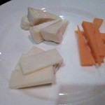 ルッコラ - チーズ3種盛り♪