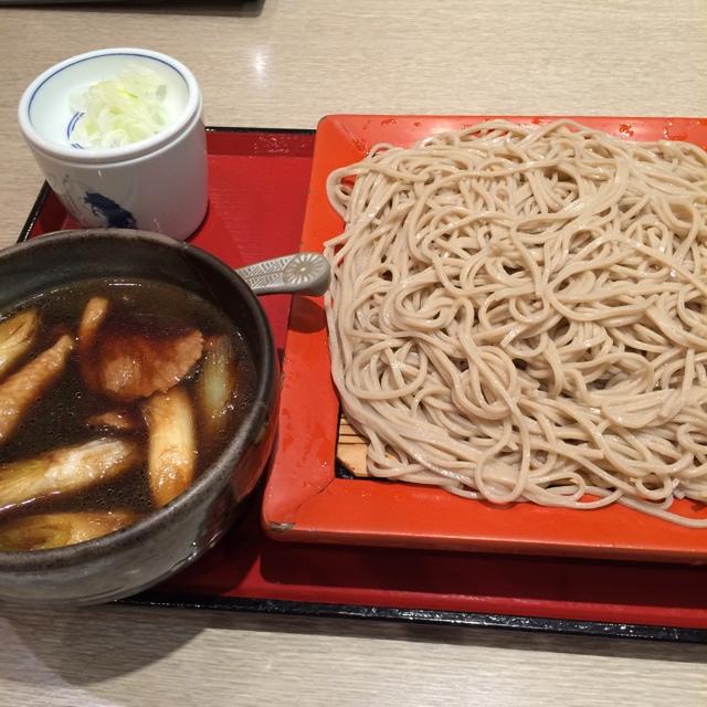 永坂更科 布屋太兵衛 大宮そごう店 - 大宮そごうの永坂更科 布屋太兵衛で食事。 鴨せいろを食した。