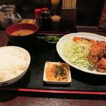 旬味串喝 やまや - 唐揚げ定食