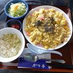 かつ亭 - チャー飯 800円