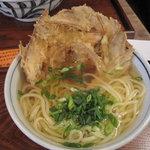 武膳 - 料理写真:ごぼう天(温)