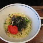 武膳 - めんたま(明太子と玉子)