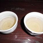 そば喜香庵 - そば茶