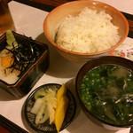 喜泉 - 麦とろご飯700円