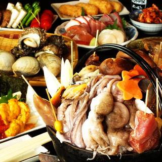 名物!!海鮮ぶっこみ鍋の宴会満足度にこだわりマス⇩⇩⇩⇩⇩⇩