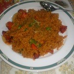 インド料理 ラサニ - スパイシーフライライス(ビリヤニではない)