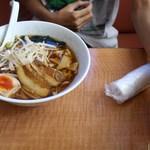 天香一 - 醤油ラーメン 2014/10/11