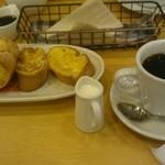 ラポーズカフェ - フレンチトースト(ベリー)