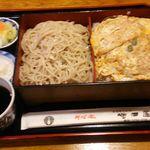 31438227 - かつ丼セット(もり)