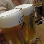 Kushikatsudengana - ビール旨かった!