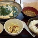 金太郎 - 常野鍋玉子とじ定食