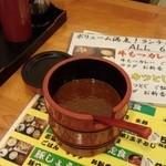 金太郎 - 辛味噌(無料)